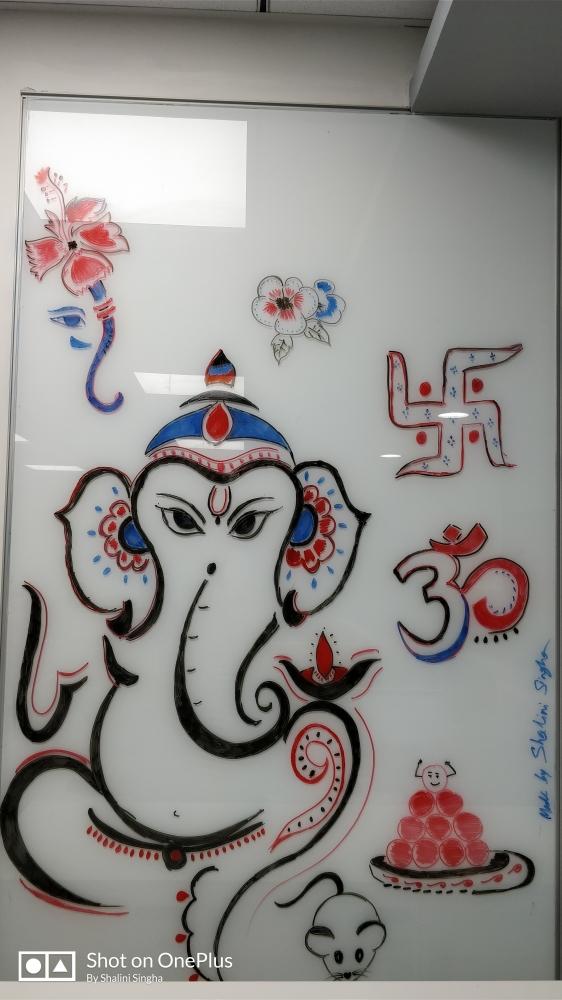 Ganesha par shalini